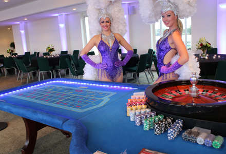 fun casino show girls