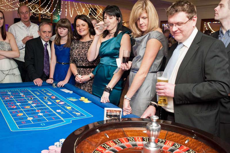 roulette table full