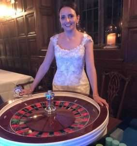 fun casino hire for weddings