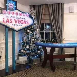 Christmas wedding Las Vegas style