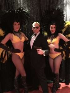 themed casino event bond girls