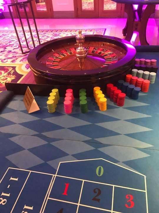 American Roulette Table
