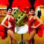 Show Girls And Casino Hire Dice Props