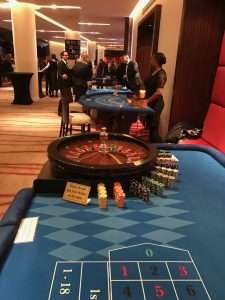 Casino hire corporate event at Westminster Park Plaza