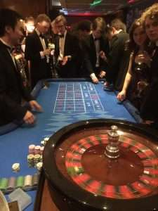 Christmas fun casino hire