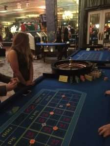 Fun casino hire at The Dorchester Hotel