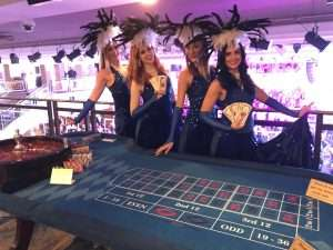 London fundraising casino hire