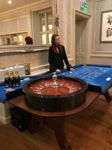 Office party event roulette-hire London