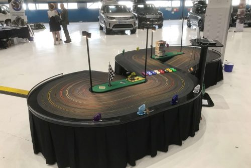 Scalextric hire at conference in London