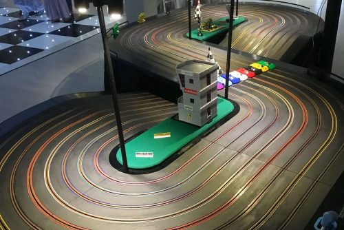 Wedding scalextric hire Westminster