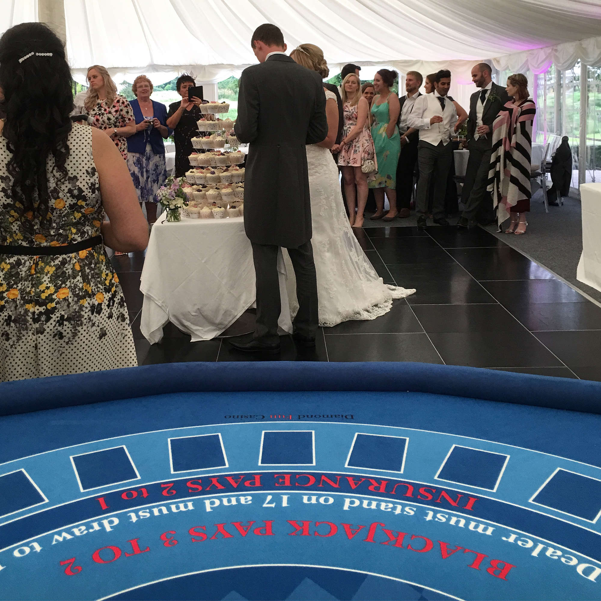 Casino hire at Le Talbooth, Dedham, near Colchester in Essex