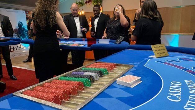 casino at corporate event